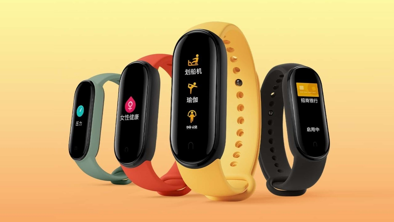 Introduced Xiaomi Mi Band 5 NFC-enabled fitness bracelet for $ 32
