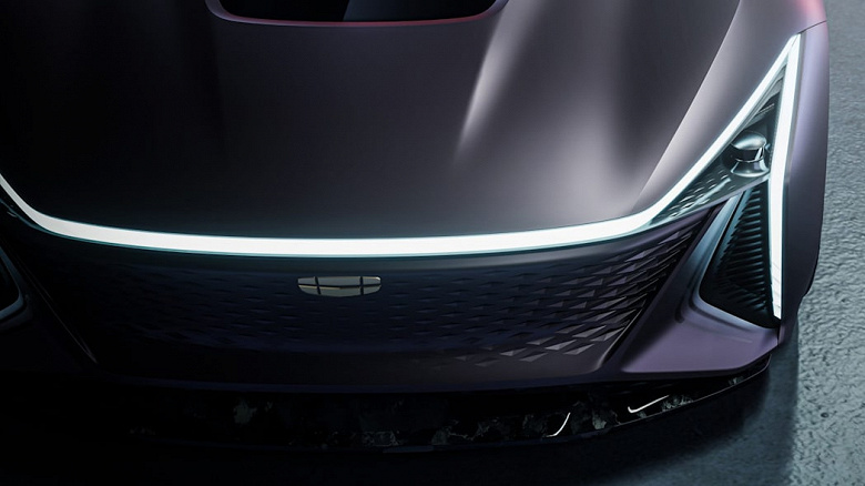 Soon Geely cars will look like this: the futuristic Vision Starburst electric car presented