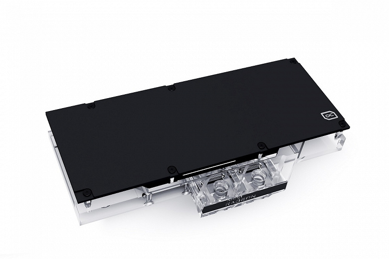 Alphacool Eisblock Aurora Acryl GPX-A waterblock is designed for reference video cards Radeon RX 6700 XT