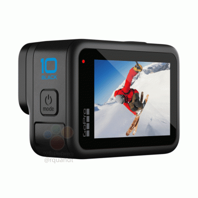 This is what the GoPro Hero 10 Black looks like.  Official renders and first technical details