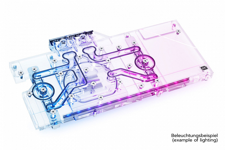 Introduced AlphaCool Eisblock Aurora waterblock for Galax and KFA2 RTX 3080 Ti and RTX 3090 HOF video cards