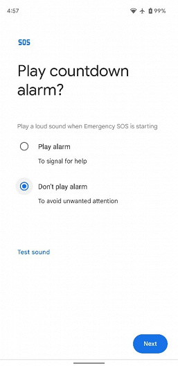 Google Pixel smartphones will be able to activate video recording in case of emergency
