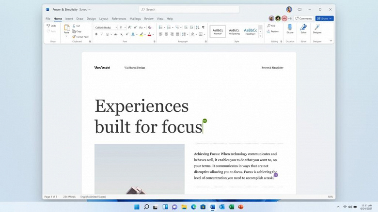 Microsoft announced innovations and pricing for Office 2021 without subscription