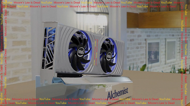 This graphics card will compete with the GeForce RTX 3070 and Radeon RX 6700 XT. Top 3D-card Intel Arc Alchemist showed on high-quality renders