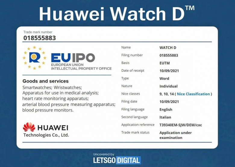 In December, Huawei will unveil the Mate V clamshell smartphone like the Galaxy Z Flip3, as well as the Watch GT3 and Watch D smartwatches.