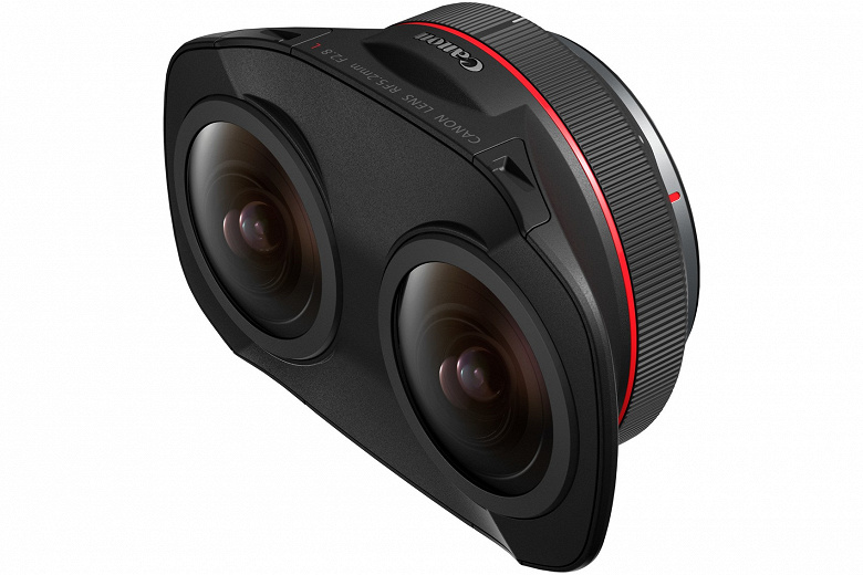 Canon RF 5.2mm F2.8L Dual Fisheye Lens Designed to Make Stereoscopic Content Filming for VR Easier