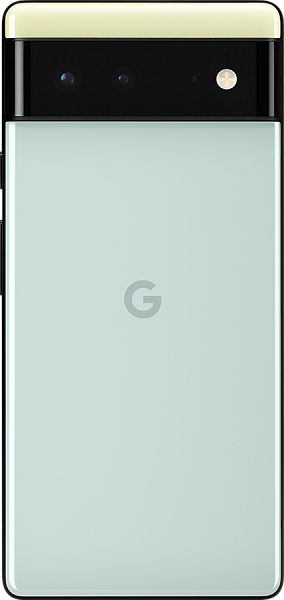 The first smartphone with Android 12 pre-installed is water resistant and supports wireless charging.  New images of Google Pixel 6 published