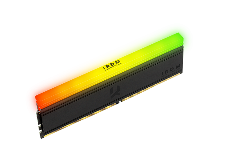 IRDM RGB DDR4 memory modules are offered in sets of two for a total volume of 16 GB
