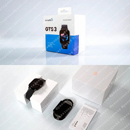 Smartwatches Amazfit GTR 3, GTR 3 Pro and GTS 3 pose on the frames 4 days before the announcement.  Disclosed their characteristics, announced the cost