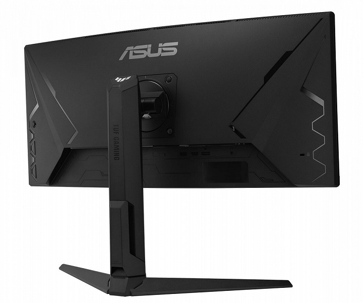 The core of the Asus TUF Gaming VG30VQL1A gaming monitor is a concave 30-inch panel