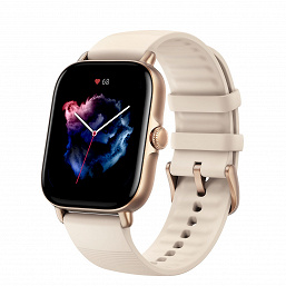 Large AMOLED screen, continuous monitoring of heart rate and heart rate, 150 training modes, GPS, 12 days of autonomy with a weight of only 24.4 grams.  Amazfit GTS 3 smartwatch presented