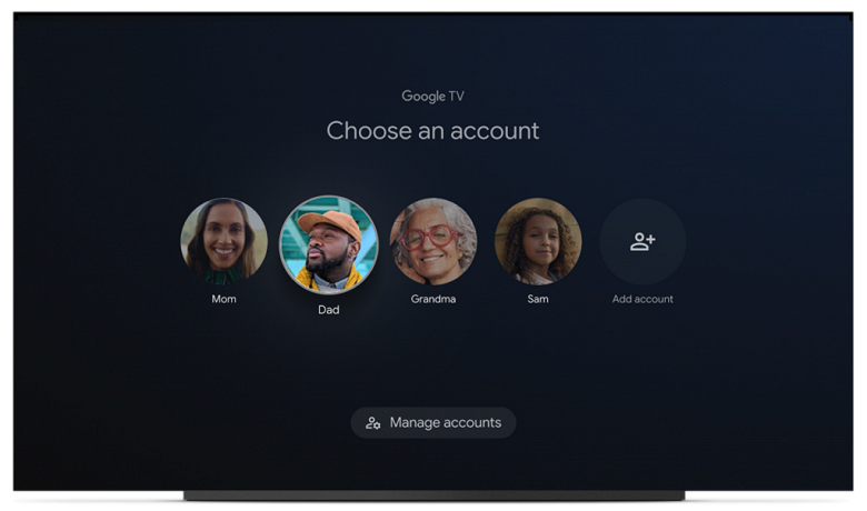 Big Google TV update: long-awaited full support for different user profiles and more