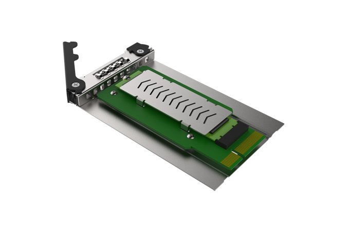 Icy Dock CP040 Converts Slim Optical Drive Bay to Removable Solid State Drive Bay