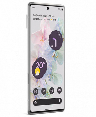 When the camera unit protrudes half the thickness of the smartphone body.  Google Pixel 6 showed on new renders