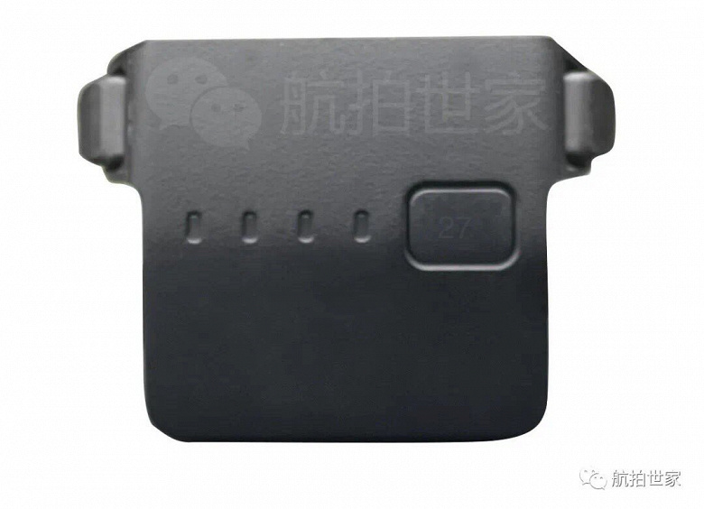 DJI Mavic 3 will be able to fly for a really long time.  Photos of drone battery have been posted and it looks very large