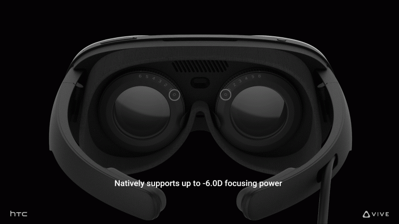 VR headset for meditation and psychological wellness with a price tag of $ 500.  Introduced HTC Vive Flow