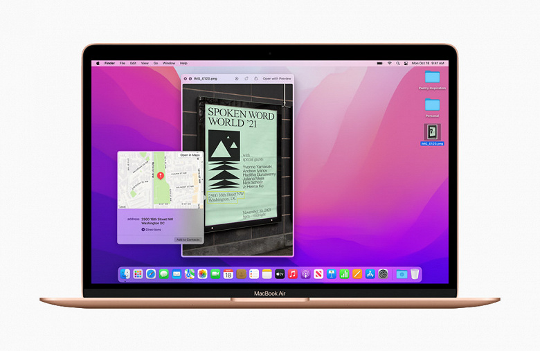 Apple released macOS 12 Monterey - the new OS for Mac
