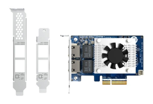 Qnap launches dual 10GbE PCIe expansion card