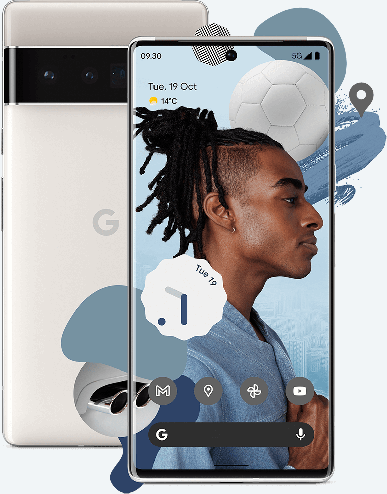 Google Pixel 6 was shown in all its glory long before the release: a reliable insider posted high-quality photos and renders