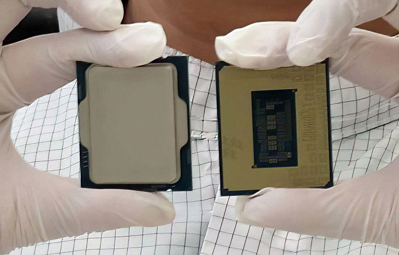 These Intel processors are designed to end AMD's lead.  The company shared a photo of Alder Lake for the first time