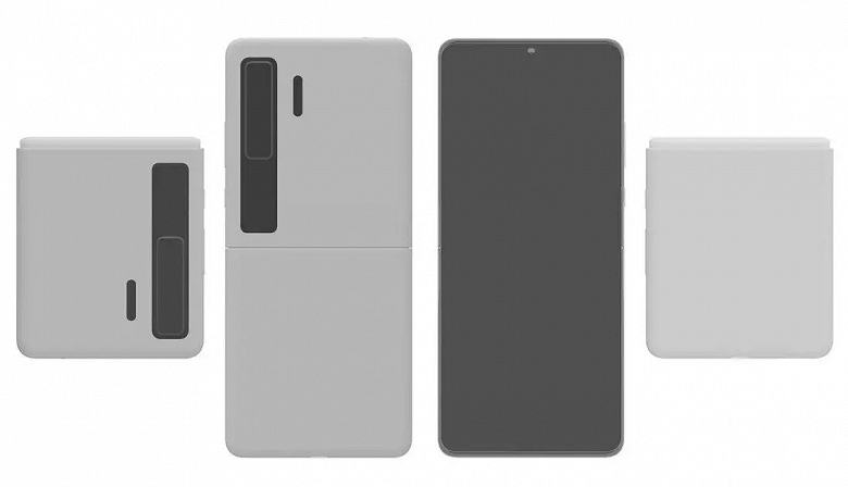 This is how the clamshell Huawei Mate V will look in the spirit of the Samsung Galaxy Z Flip 3: new images have appeared